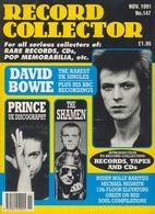 REVUE ANGLAISE RECORD COLLECTOR N° 147  De 1991   : DAVID BOWIE , PRINCE  ETC ........... - Objets Dérivés
