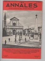 LES ANNALES 10 1954 - AGRIPPA D'AUBIGNE - LE LYS ROUGE ANATOLE FRANCE - BIOLOGIE ALBERT DELAUNAY - Journaux - Quotidiens