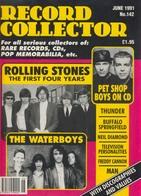 REVUE ANGLAISE RECORD COLLECTOR N° 142  De 1991   : ROLLING STONES ,    ETC ........... - Objets Dérivés