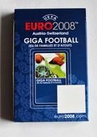 Jeu De 32 Cartes Football EURO 2008 UEFA Jeu De Familles Et D'atouts - Habillement, Souvenirs & Autres