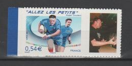 """FRANCE / 2007 / Y&T N° 4032B ** Ou AA 117A **: Rugby """"Allez Les Petits...""""  (vignette Photo) - Gomme D'origine Intacte - France"""