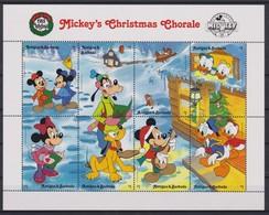 2086 Walt Disney Antigua & Barbuda (  CHRISTMAS 1988 - Mickey's Christmas Chorale ) - Disney