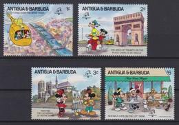 2087 Walt Disney Antigua & Barbuda  ( FHILEX FRANCE 1989 ) - Disney