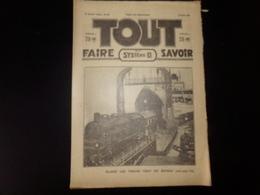""""""" Tout Faire , Tout Savoir Et Système D """" N° 353, Mars 1931, """" Quand Les Trains Vont En Bateau """" - Livres, BD, Revues"""
