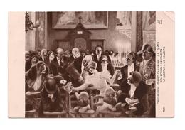 COPIE DE TABLEAU Salon De  Paris LA QUETE - A. Guillaume - - Paintings