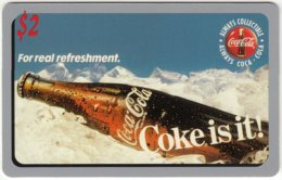 USA C-549 Prepaid Sprint - Advertising, Drink, Coca Cola - MINT - United States
