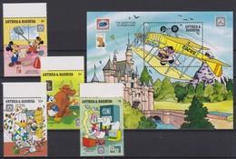 2090 Walt Disney Antigua & Barbuda ( SHARING THE FUN OF PHILATELY II ) - Disney