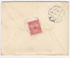 Hungary Croatia Letter Travelled 1908 To Zagreb B180612 - Hungary