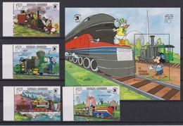 2091 Walt Disney Antigua & Barbuda ( NEW YORK WORLD'S FAIR 1939-89 )  WORLD STAMP EXPO . - Disney