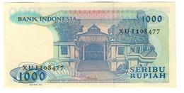 Indonesia 1000 Rupiah 1987 UNC X Replacement - Indonesia