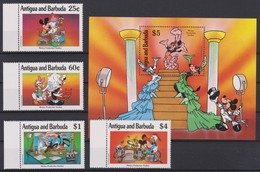 2093 Walt Disney Antigua & Barbuda ( MIKEY PRODUCTION STUDIOS ) - Disney