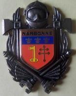 INSIGNE SAPEURS POMPIERS NARBONNE - Firemen