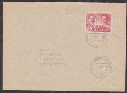 Karl Liebknecht Rosa Luxemburg FDC SBZ 299 Falkenberg (Elster) - Sowjetische Zone (SBZ)