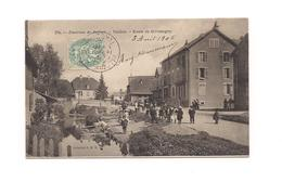 VALDOIE  L'EGLISE Environs De Belfort - Route De Giromagny - - Valdoie