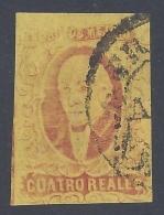 MEXICO 1861 MIGUEL HIDALGO 4r RED Nº 10 - Mexico