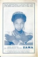Prospectus Voyante Chiromancie Graphologie Princesse ZAMA 1930 Tarifs Et Témoignages - Publicités