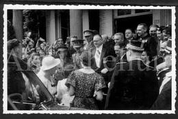 Photo Postcard / ROYALTY / Belgique / België / Roi Leopold III / Koning Leopold III / Malmédy / 1938 - Malmedy
