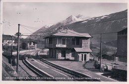 Italie, Valle D'Aosta, Villanova Baltea, La Stazione Ferroviaria (28.7.36) - Italia