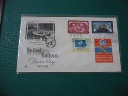 FDC BUSTA PRIMO GIORNO UNITED NATIONS SERIES 1962 - America Centrale