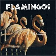Bloc Sheet Oiseaux Flamants Birds Flamingos Neuf  MNH **  St Vincent Grenadines  2015 - Flamingo