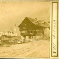 Suisse Uri - ANDERMATT - Photo Stéréoscopique Braun Vers 1865 - Voir Scans - Photos Stéréoscopiques