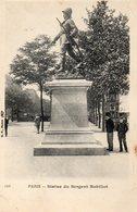 CPA PARIS - STATUE DU SERGENT BOBILLOT - Statues