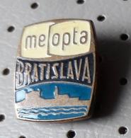 Meopta Bratislava Cameras & Photo Slovakia  Ex CSSR Pin - Photography