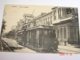 C.P.A.- Asie - Syrie - Damas - Rue De Salhieh - 1920 - SUP (AB14) - Syrie