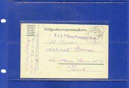 ##(DAN186)-1916 Feldpostkarte From An Italian Language Soldier K.u.K.Feldzeugskompagnie Nr.11  Feldpost 250.  To Trieste - Briefe U. Dokumente