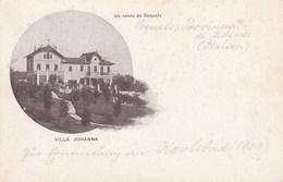 SEQUALS-PORDENONE-VILLA JOHANNA-CARTOLINA ANNO 1900-1904 - Pordenone