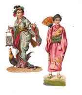 2 DECOUPIS GAUFFRES JAPONAISES - - Other