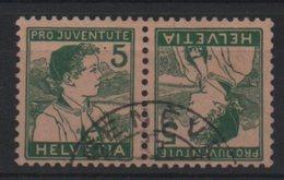 Suisse Tête-bèche  Yvert 149 - Inverted (tête-bêche)