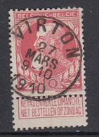 BELGIË - OBP - 1905 - Nr 74 (VIRTON) - TL1 - Coba + 2 - 1905 Grosse Barbe
