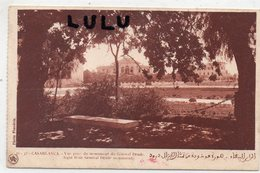 MAROC : édit. Flandrin N° 15-37 : Casablanca Vue Prise Du Monument Du Général Drude - Casablanca