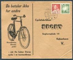 1968 Greenland Cycle Bike Sport Cover. Umanak Slania - Covers & Documents