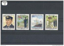 CHRISTMAS 1988 - YT N° 269/272 NEUF SANS CHARNIERE ** (MNH) GOMME D'ORIGINE LUXE - Christmas Island