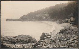 Babbacombe Beach, Torquay, Devon, 1930 - Chapman & Son RP Postcard - Torquay