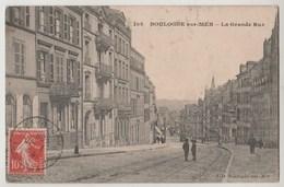CPA 62 BOULOGNE SUR MER La Grande Rue - Boulogne Sur Mer