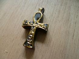Feve ** Les Tresors D'egypte- Croix Egytienne Pendentif ** Art Dieu, Deese Egyptien - History