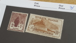 LOT 402157 TIMBRE DE FRANCE NEUF* N°229/230 - France