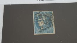 LOT 402192 TIMBRE DE FRANCE OBLITERE N°45A VALERU 130 EUROS - 1870 Bordeaux Printing