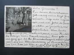 Österreich 1916 Postkarte Mit Foto Aufgeklebt. Soldaten. 1.WK. KuK Militär Briefzensur Linz - 1850-1918 Imperium