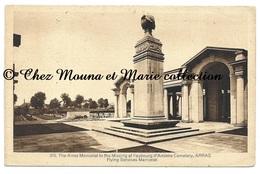ARRAS MEMORIAL TO THE MISSING - MONUMENT AUX MORTS - CPA MILITAIRE - Monuments Aux Morts