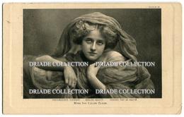 CARTOLINA ATTRICE IVY LILIAN CLOSE ACTRESS VIAGGIATA ANNO 1909 - Attori