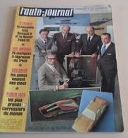 L'Auto Journal N°23 19 Novembre 1970 Essai Renault 6 TL,Marie Claude Beaumont,Tour De Corse,Ferrari 312/B  Coeur Ouvert - Auto