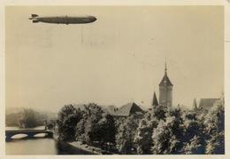 295 - 1928 Luftschiff Graf Zeppelin Zurich Travelled - Dirigibili