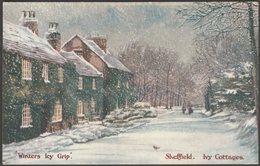 Winters Icy Grip, Whiteley Woods, Sheffield, Yorkshire, 1908 - Photochrom Postcard - Sheffield
