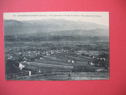 CPA   Savoie  St-Pierre-d'Albigny  Vue Générlae Et La Vallée De L'Isère - Aix Les Bains