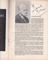 AUTOGRAPHES GIANANDREA GAVAZZENI, MARTINA ARROYO, JAMES KING, FIOERENZA COSSOTTO-AIDA, GIUSEPPE VERDI-BLEUP - Autographes