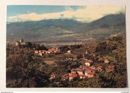 FRACENA - VALSUGANA PANORAMA CON IVANO E CASTEL IVANO  VIAGGIATA FG - Trento